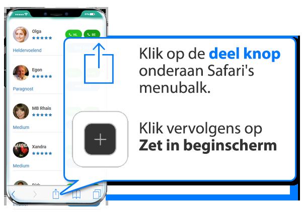 iphone en ipad: Medium.nl als app instellen op Mobiel